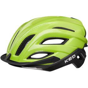 KED Champion Visor - Casque de vélo - vert/noir